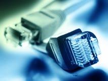 Netzsteckverbindungen Lizenzfreies Stockbild