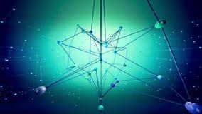 Netzstruktur stock video