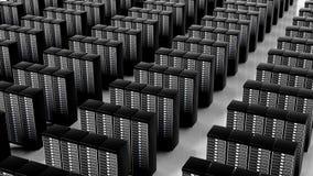 Netzwerk-Server-Rechenzentrum stock abbildung