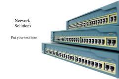 Netzwerkausrüstung Lizenzfreie Stockfotografie
