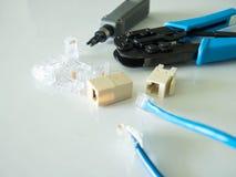 Netzwerkausrüstungswerkzeug Lizenzfreies Stockbild