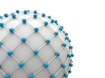 Netzwerkkonzept lizenzfreie abbildung
