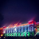 Neu-Delhi Bahnhof stockfotografie
