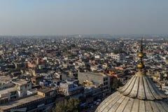 Neu-Delhi Dachspitzen Lizenzfreies Stockbild