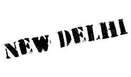 Neu-Delhi Gummischmutz Lizenzfreies Stockbild