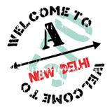 Neu-Delhi Gummischmutz Stockbild