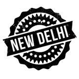 Neu-Delhi Gummischmutz Stockfotografie