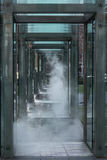 Neu-England Holocaust-Denkmal, Boston, Massachusetts, am 30. Dezember 2013 Lizenzfreies Stockfoto