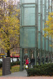 Neu-England Holocaust-Denkmal, Boston, Massachusetts, am 24. Oktober 2014 Stockbild