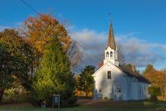 Neu-England Kirche Stockbild