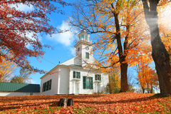 Neu-England Kirche Lizenzfreie Stockbilder
