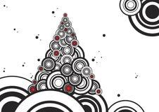 Neu-Jahr Baum lizenzfreie abbildung
