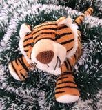 Neu-Jahr Tigerjunges. Lizenzfreie Stockfotos