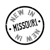 Neu in Missouri-Stempel Stockbilder