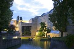 Neu Pinakothek à Munich, Bavière Photographie stock libre de droits