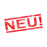 Neu Rubber Stamp Stock Image