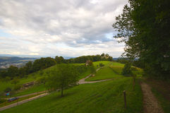 Neu-Schauenburg城堡, Frenkendorf废墟  库存图片
