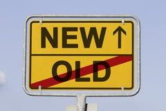 Neu und alt Lizenzfreies Stockfoto