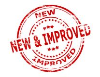 Neu und verbessert vektor abbildung