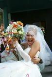 Neu-verheiratete Paare Lizenzfreie Stockfotos