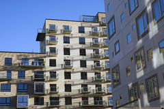 Neubau in Aarhus Lizenzfreie Stockbilder
