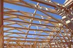 Neubau-Boden-Rahmen 2x4 lizenzfreie stockfotografie