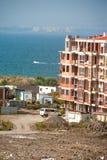 Neubau durch das Schwarze Meer Stockbilder