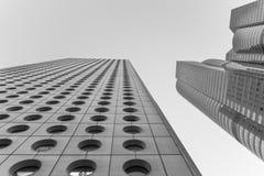 Neubau-Gebäude stockbild