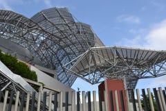 Neubau in Mailand Stockbilder