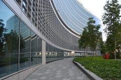 Neubau in Mailand, Italien Lizenzfreies Stockbild