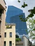Neubau in Mailand, Italien Lizenzfreie Stockbilder