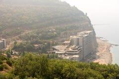 Neubau Montenegro Stockbild