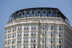 Neubau in Skopje stockfotografie