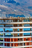 Neubauhochbaustandort in Budva, Montenegro Lizenzfreies Stockfoto