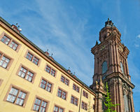 Neubaukirche Royalty Free Stock Photo