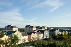 Neubauwohnungen-Entwicklung lizenzfreies stockfoto