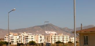 Neubauwohnungen in Nikosia lizenzfreies stockbild