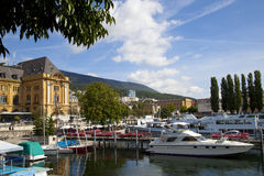 Neuchatel Port Stock Image