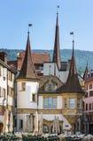 Neuchatel, Svizzera Fotografia Stock
