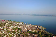 Neuchatel, Svizzera Immagine Stock