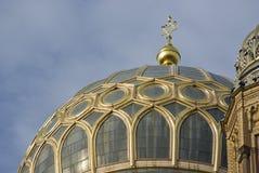 Neue犹太教堂在柏林,热尔迈 库存图片