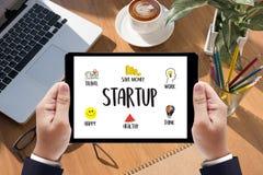 Neue Anfang-Startlösung für Ziele beginnen Ihr Lebenleben Lizenzfreies Stockfoto