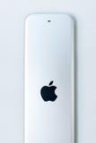 Neue Apple Fernsehmedien, die Spieler microconsole strömen Lizenzfreie Stockfotos