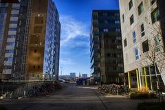 Neue Architektur in Aarhus Lizenzfreie Stockfotografie