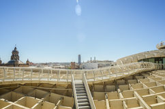 Neue Architektur Sevillas Stockfoto