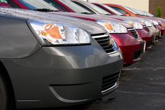 Neue Automobile lizenzfreies stockfoto