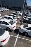 Neue Autos Lizenzfreie Stockfotografie