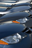Neue Autos Stockfotografie