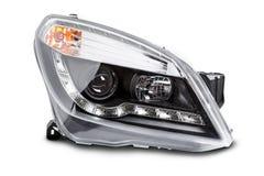 Neue Autoscheinwerfer Stockbilder