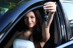 Neue Autotasten Stockfotos